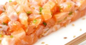 Tartare saumon huile de sésame KitchenK