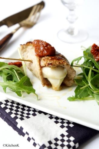saltimbocca de veau KitchenK